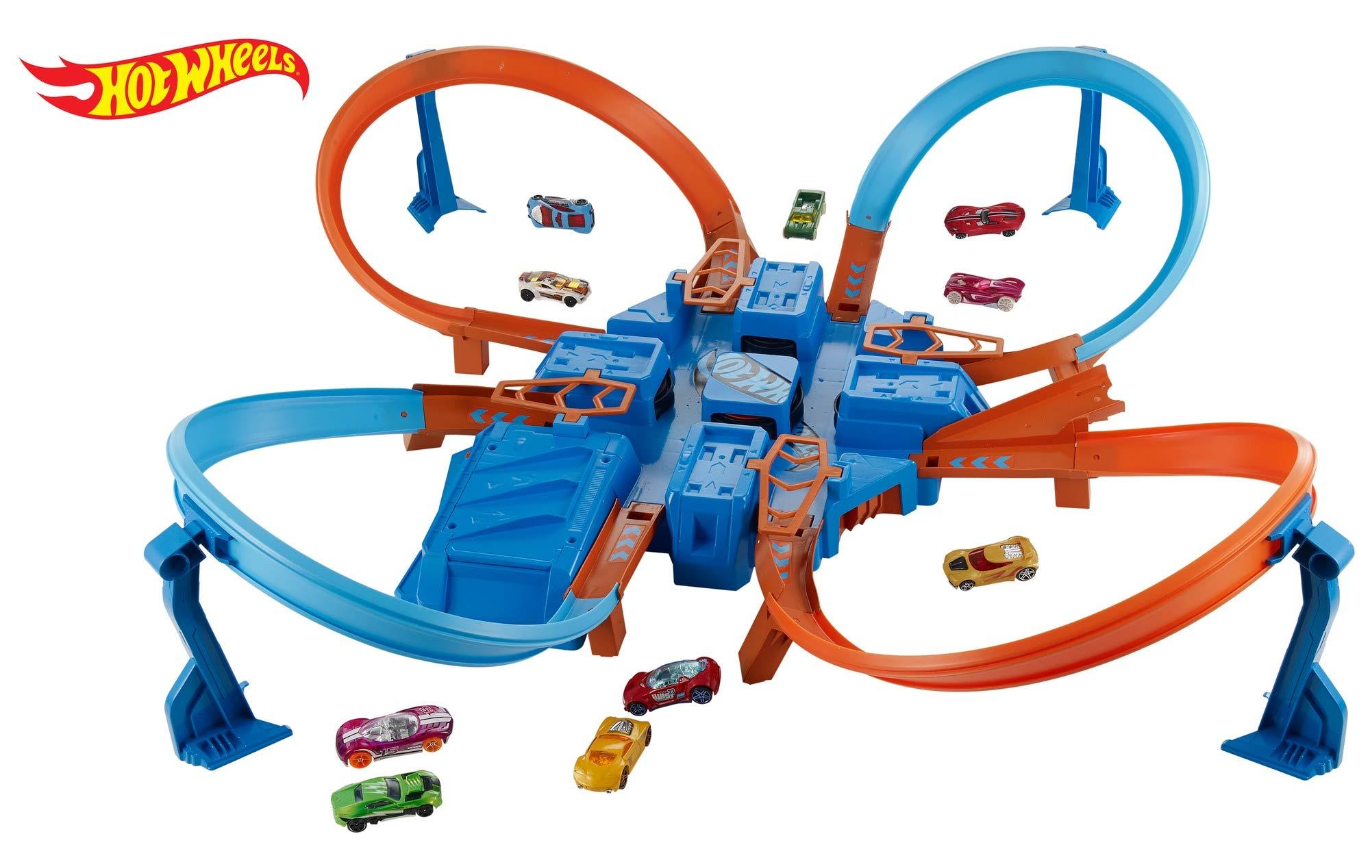 Hot Wheels Criss Cross Crash Track Set [Amazon Exclusive] by Hot Wheels