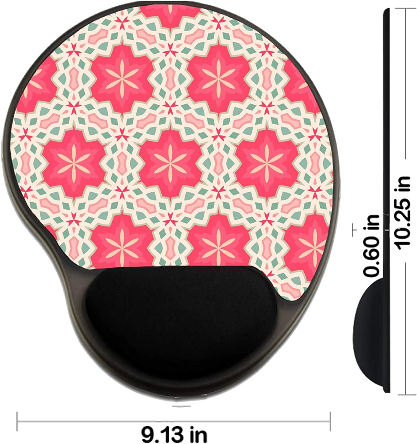 Mat with Wrist Support Image ID MSD Mousepad Wrist Rest Protected Mouse Pads 19824874 Cherry Drink Splash Close up Back