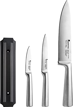 Bergner Chef's Shine Knife Set Kitchen Knives at amazon