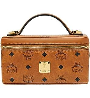 11e43b582e174 MCM Damen Umhängetasche Visetos Cognac  Amazon.de  Bekleidung