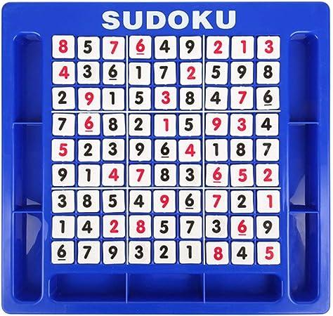 ShenyKan Nine Palace Sudoku Juego de Mesa Juguetes educativos para niños 3-7 años Desarrollo de la formación Intelectual 1 Piezas: Amazon.es: Hogar