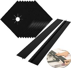 Stove Burner Covers, MSDADA 8 Pcs 0.2 mm 10.6