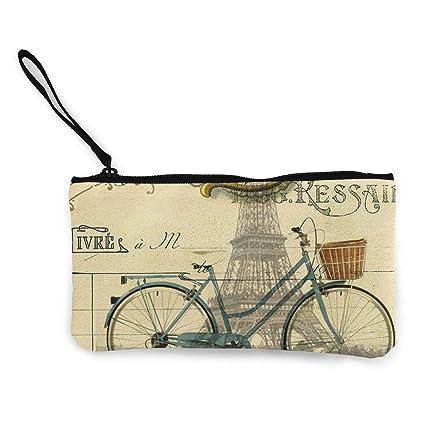 Monedero vintage para bicicleta con diseño de Torre Eiffel ...
