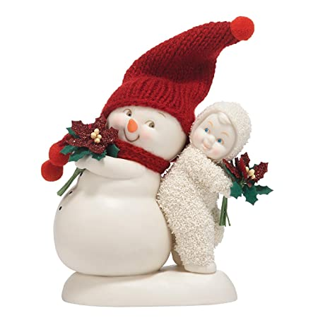 Department 56 Snowbabies Classics You are the Best Gift of All Figurine, 4.5 inch