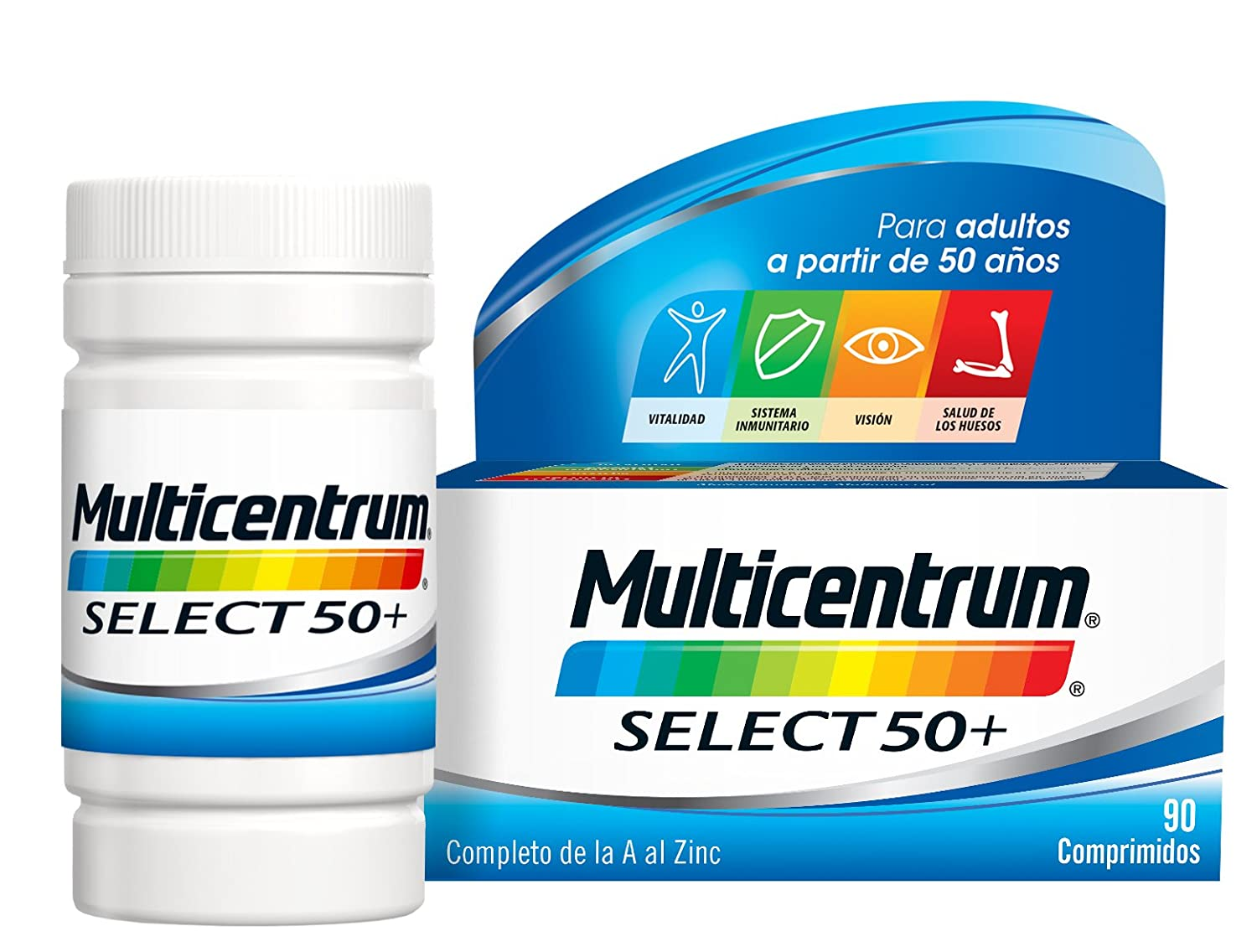 Multicentrum Select 50+ - 90 comprimidos: Amazon.es: Salud y cuidado personal