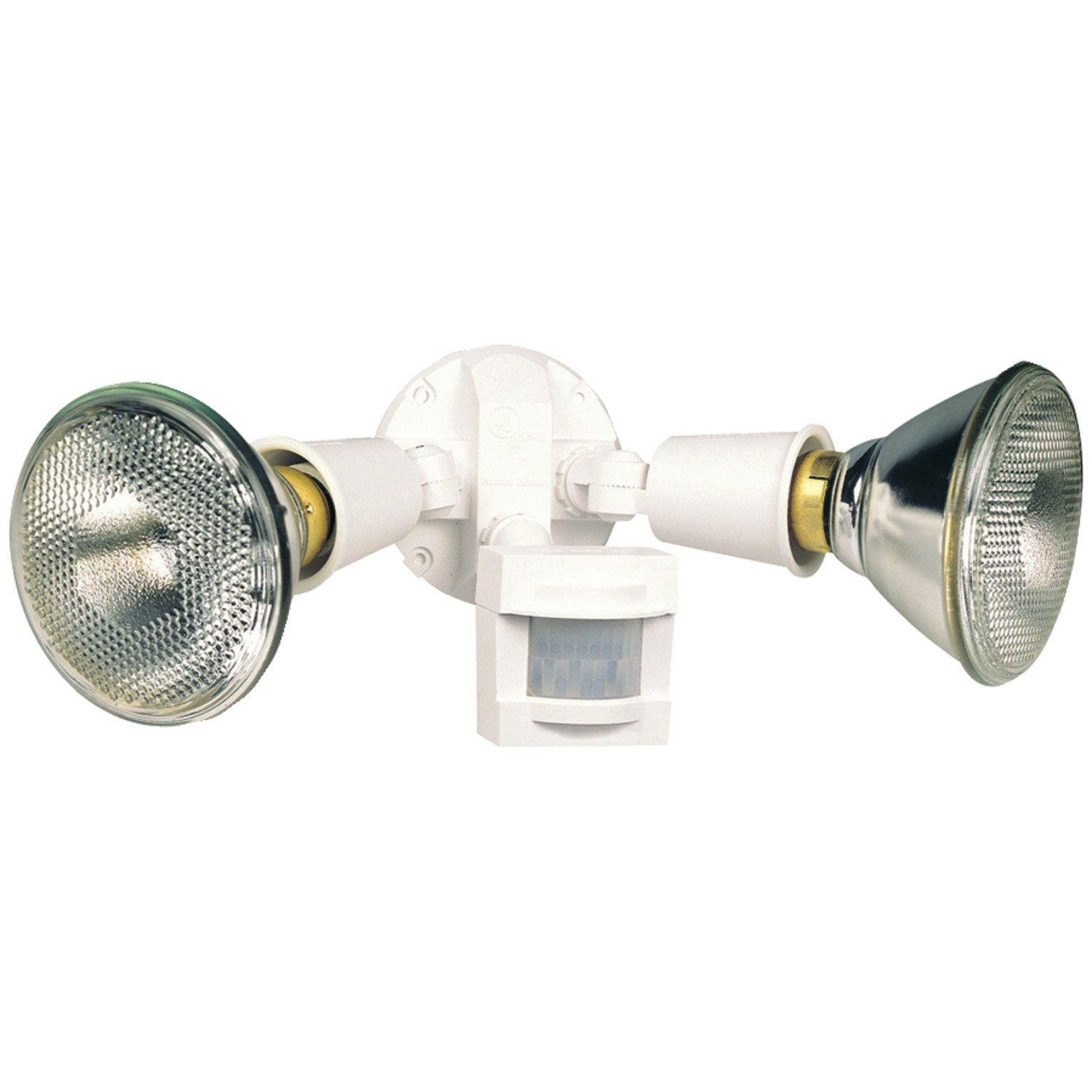 Heath Zenith SL-5408-WH 110-Degree Motion-Sensing Flood Security Light, White