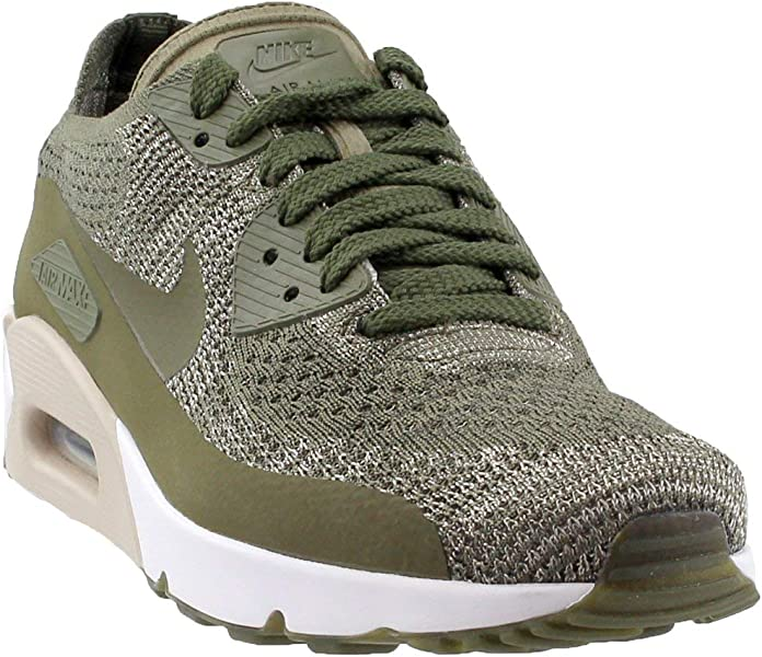 pretty nice ad141 c919e Amazon.com   Nike Mens Air Max 90 Ultra 2.0 Flyknit Low Top Lace Up ...
