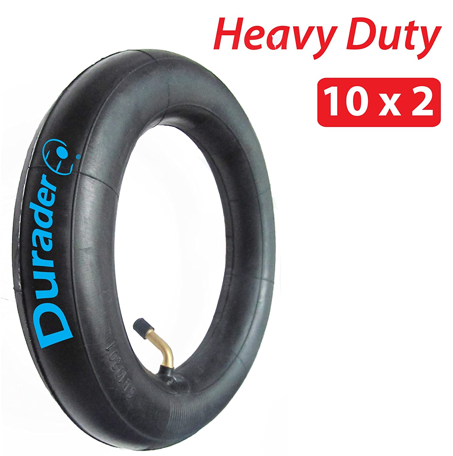 10 x 2 Inner Tube with Angled Valve for Gas/Electric scooters & bikes Lineament