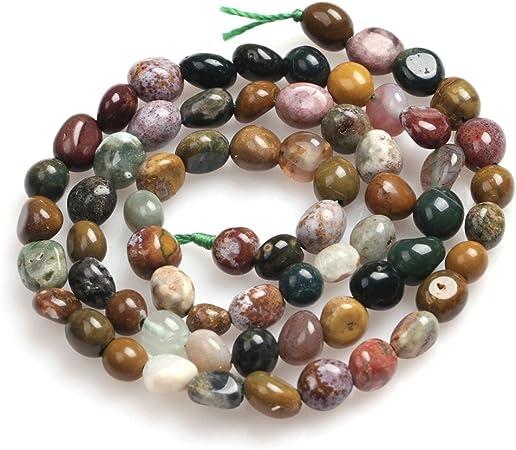 Garnet Beads for Jewelry Making Natural Gemstone Semi Precious 6x8mm Freeform 15 JOE FOREMAN