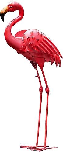 Flamingo Mental Statues 33″ H Yard Garden Decor