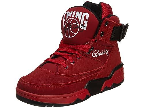 Ewing Athletics Hombres Calzado/Zapatillas de Deporte 33 High OG Rojo 41.5: Amazon.es: Zapatos y complementos