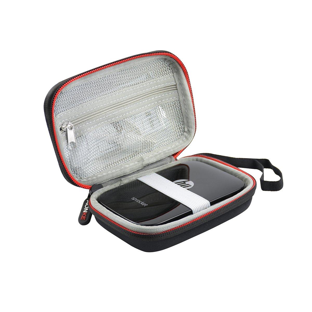 Viaggiare Conservazione il Trasporto Scatola Borsa per HP Sprocket Stampante Fotografica Portatile by AONKE (Rosso)