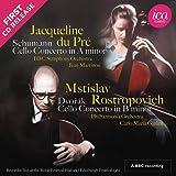 Cello Concertos [Jacqueline du Pré; BBC Symphony Orchestra; Jean Martinon; Mstislav Rostropovich; Carlo Maria Giulini ] [Ica Classics: ICAC 5149]