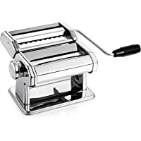 Alloyseed Stainless Steel Homemade Noodle Machine w/Adjustable Roller