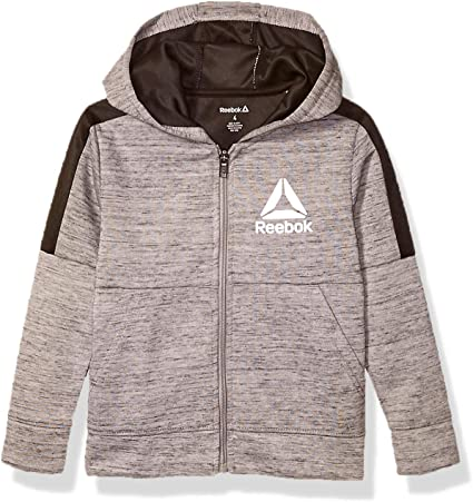 Fleece Pullover Fashion Hoodie Designs and Logos Reebok Boys Sweatshirt