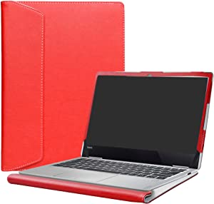"Alapmk Protective Case Cover for 13.3"" Lenovo Yoga 730 13 730-13IKB 730-13IWL & Yoga C630 WOS & ThinkBook 13s 13s-IWL Laptop(Note:Not fit Yoga 730 15/Yoga 720/yoga chromebook c630 Series),Red"