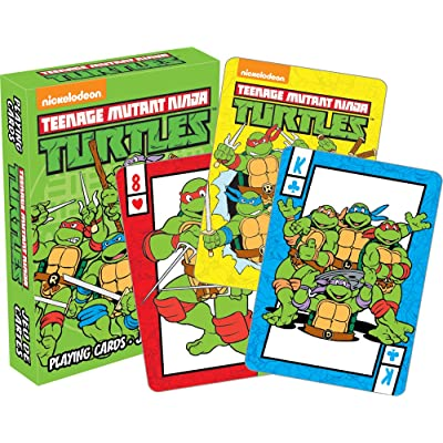 Aquarius Teenage Mutant Ninja Turtles Playing Cards Playing Cards: Toys & Games