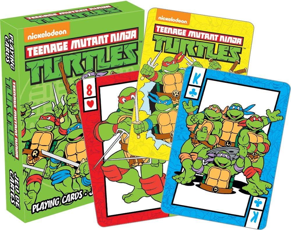 Aquarius Teenage Mutant Ninja Turtles Playing Cards Playing Cards