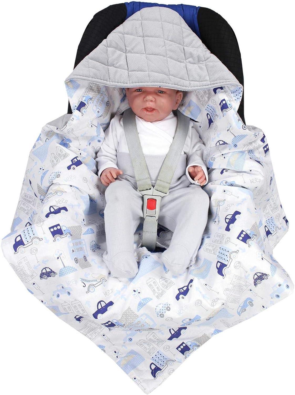 Sommer TupTam Baby Einschlagdecke f/ür Babyschale