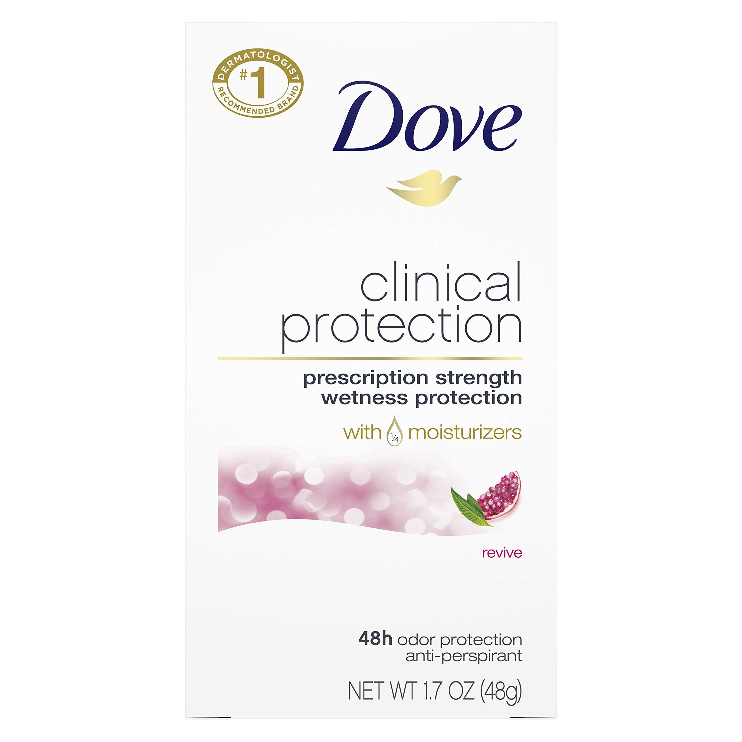 Dove Clinical Protection Antiperspirant Deodorant Revive 1.7 oz