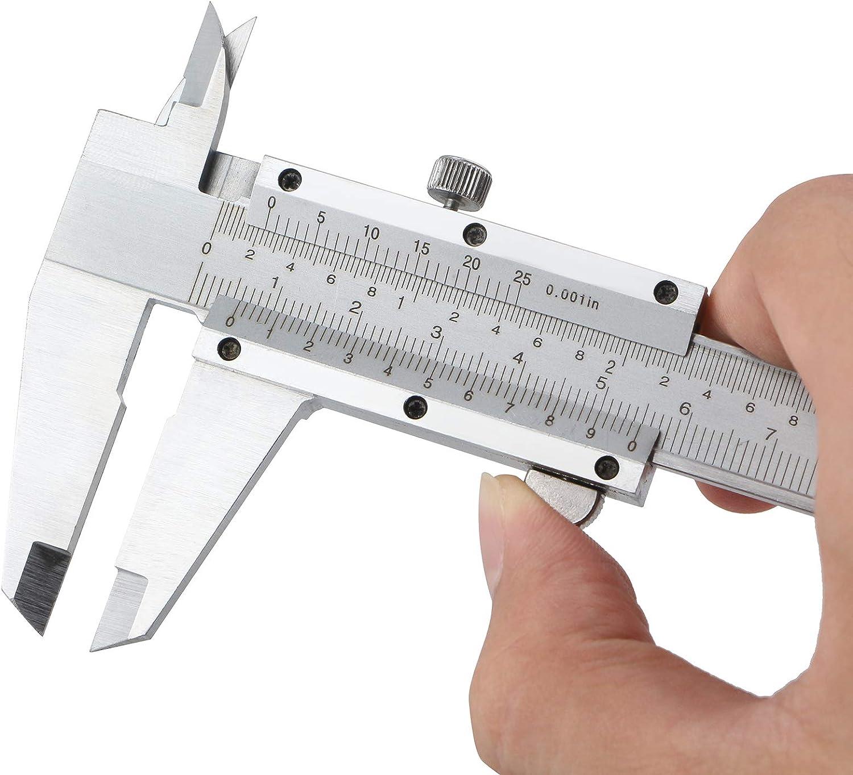 classique analogique CALIPER acier inox /ÉTRIER coulissant 150mm argent STANDARD CLASSIQUE Dimensions int/érieures Dimensions tiefenma/ß profimessger/ät