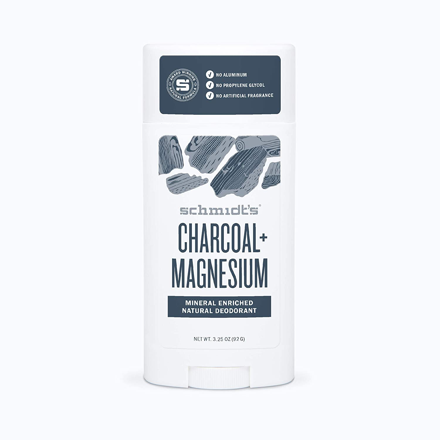Schmidt's Natural Deodorant - Charcoal and Magnesium, 3.25 ounces 75 g/ 58 ml