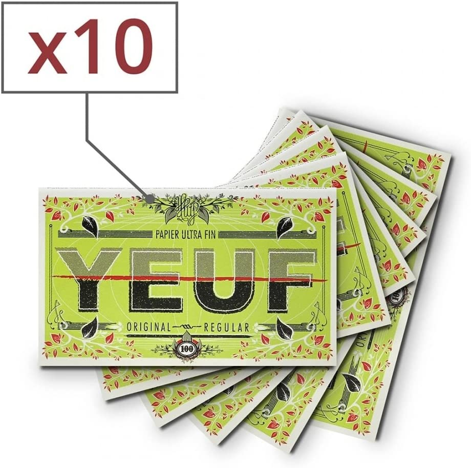 Yeuf Papier /à Rouler Original r/égular x 10