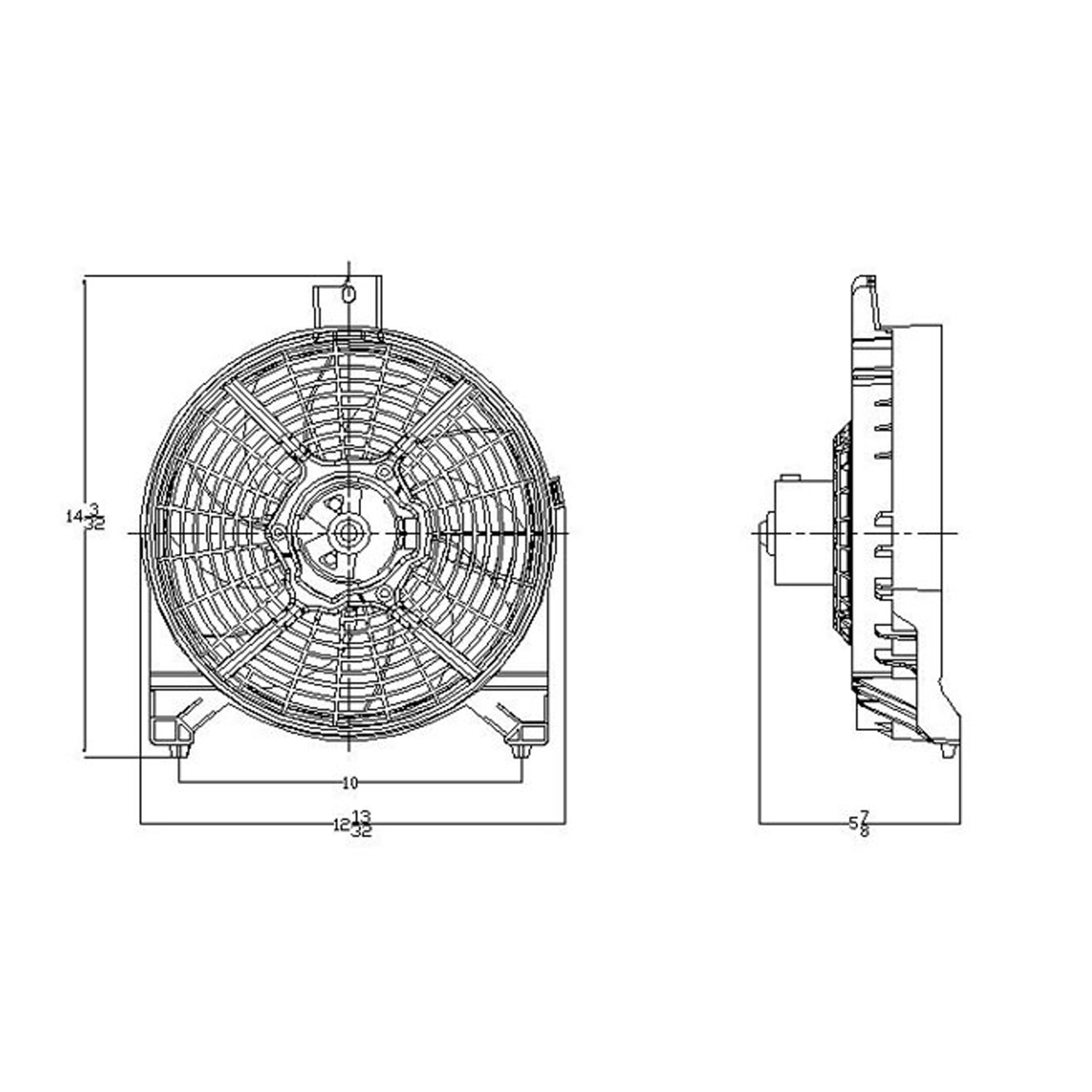 nissan titan fan shroud diagram