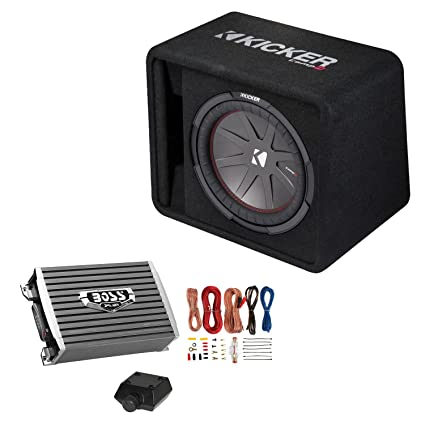 amazon com kicker 12 inch 1000w subwoofer box 1500w mono rh amazon com Polk Audio Car Subwoofer Wiring Kits Scosche Subwoofer Wiring Kit