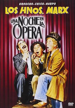 Una Noche En La Opera [DVD]: Amazon.es: Groucho Marx, Margaret ...
