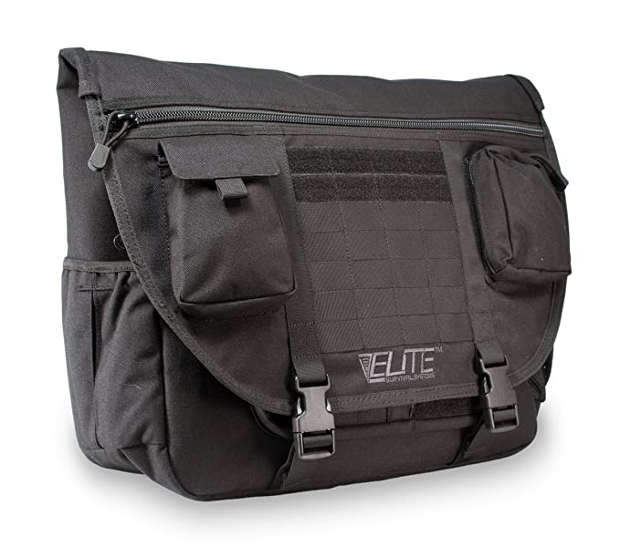 Amazon.com  Elite Survival Systems 18 inch Tactical Messenger Bag  Sports    Outdoors
