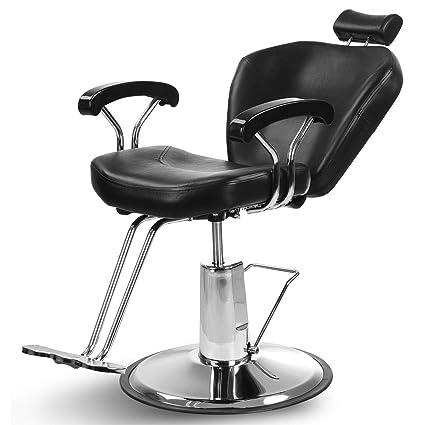 Artist Hand Hydraulic Reclining Barber Chair 360 Degrees Rolling Swivel Barber Chairs Hair Salon Spa Equipment Beauty