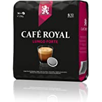 Café Royal Lungo Forte - 180 Dosettes Souples (Lot de 5X36)
