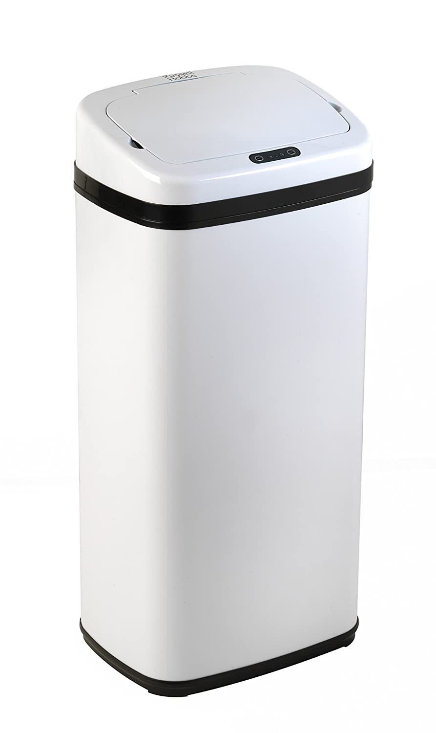Russell Hobbs BW04513W Square Hands Free Motion Sensor Dustbin ...