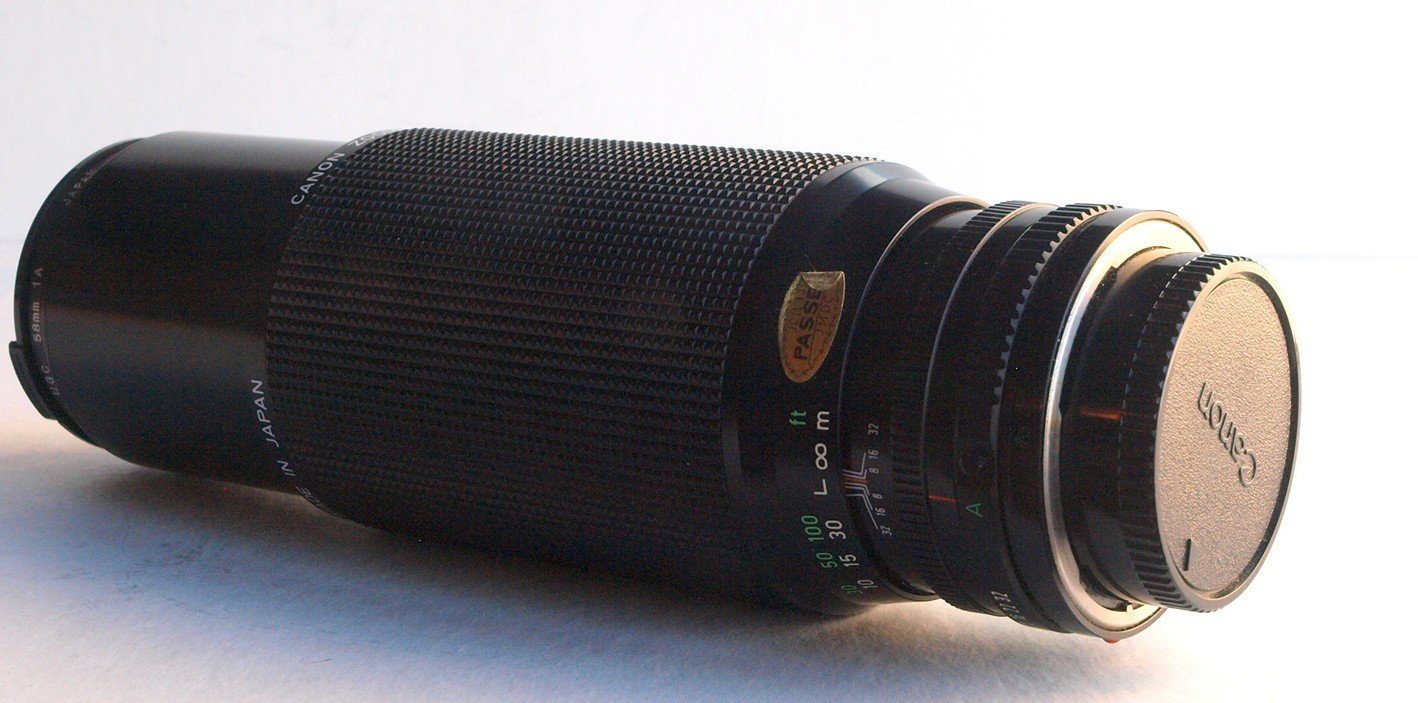 Canon Zoom Lens FD 100-300mm f5.6 for Canon A-1 AE-1 AT-1 Film SLR W205