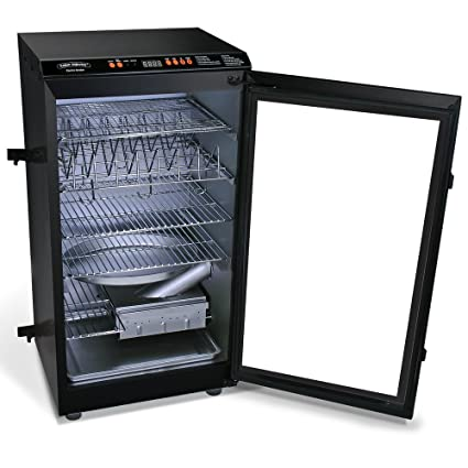 Exceptionnel Cajun Injector Glass Door Electric Smoker Digital Controls With Auto Shutoff