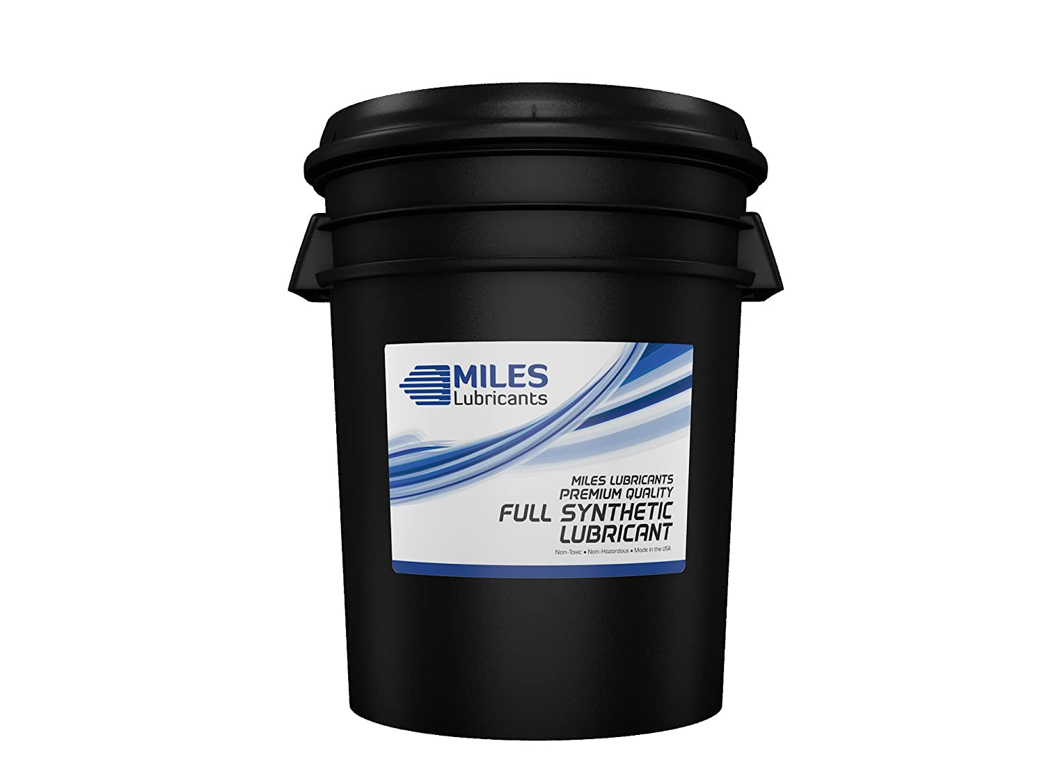 MILES LUBRICANTS MSF1554004 Sb Comp Oil Plus ISO 46 Synthetic Blend Rotary Compressor Fluid, 5 gal, Pail