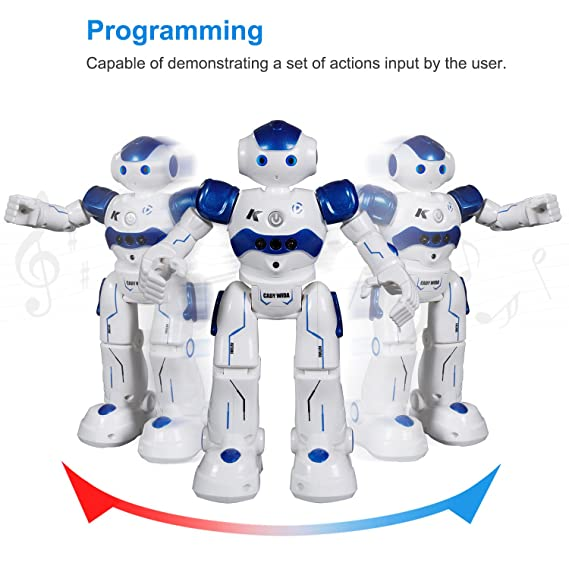 Amazon.es: SGILE Robot Juguete Control Remoto para Niños, Juguete Control Remoto con La Tecnología de Sensores de Movimiento y Equilibrio