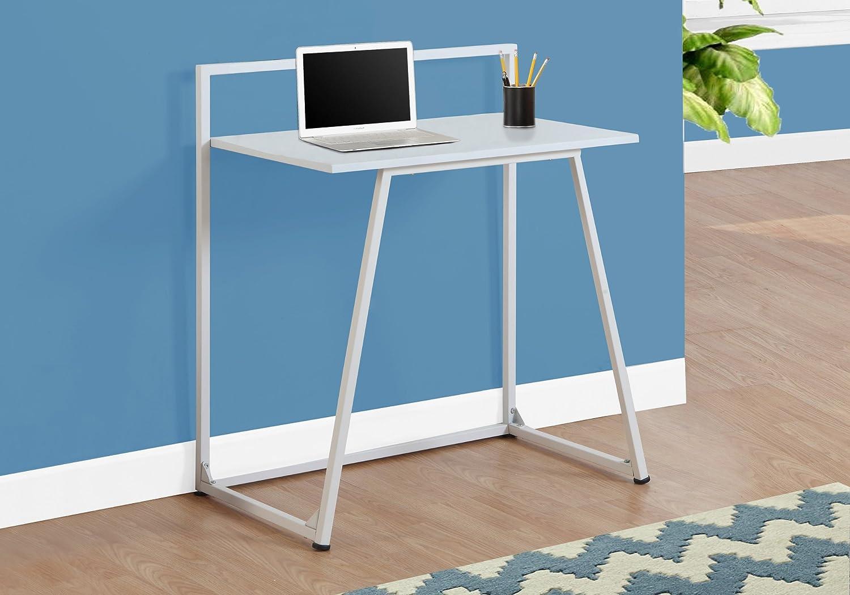 Monarch Specialties I 7110 Metal Computer Desk, White, 30 30