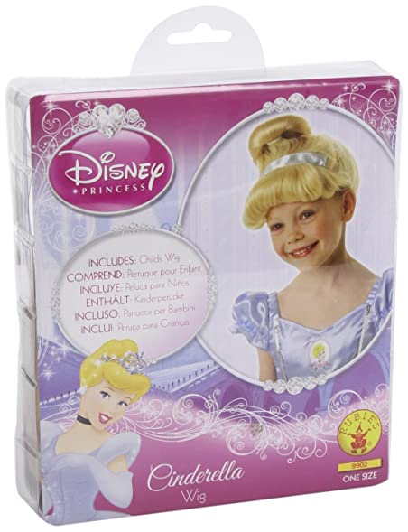 Girls Disney Princess Cinderella Wig