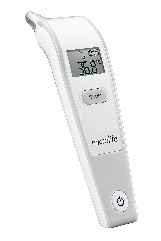 Microlife IR 150 Termómetro Infrarrojos de Oído con Tecnología limpia