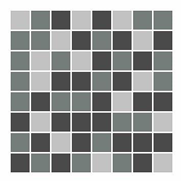 Amazon De Foliesen Fliesenaufkleber Mosaik Grau 15cm X 15cm