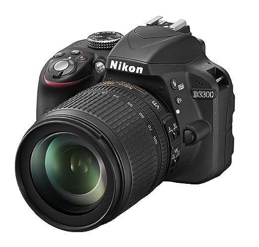 228 opinioni per Nikon D3300 Kit Fotocamera Reflex Digitale con Nikkor 18/105 VR, 24.2 Megapixel,