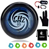 Magic Yoyos for Kids - - Original MAGICYOYO D1 GHZ Plastic Loop 2A Yoyo Ball with 5 Strings, Glove, Yoyo Holder and Yoyo…