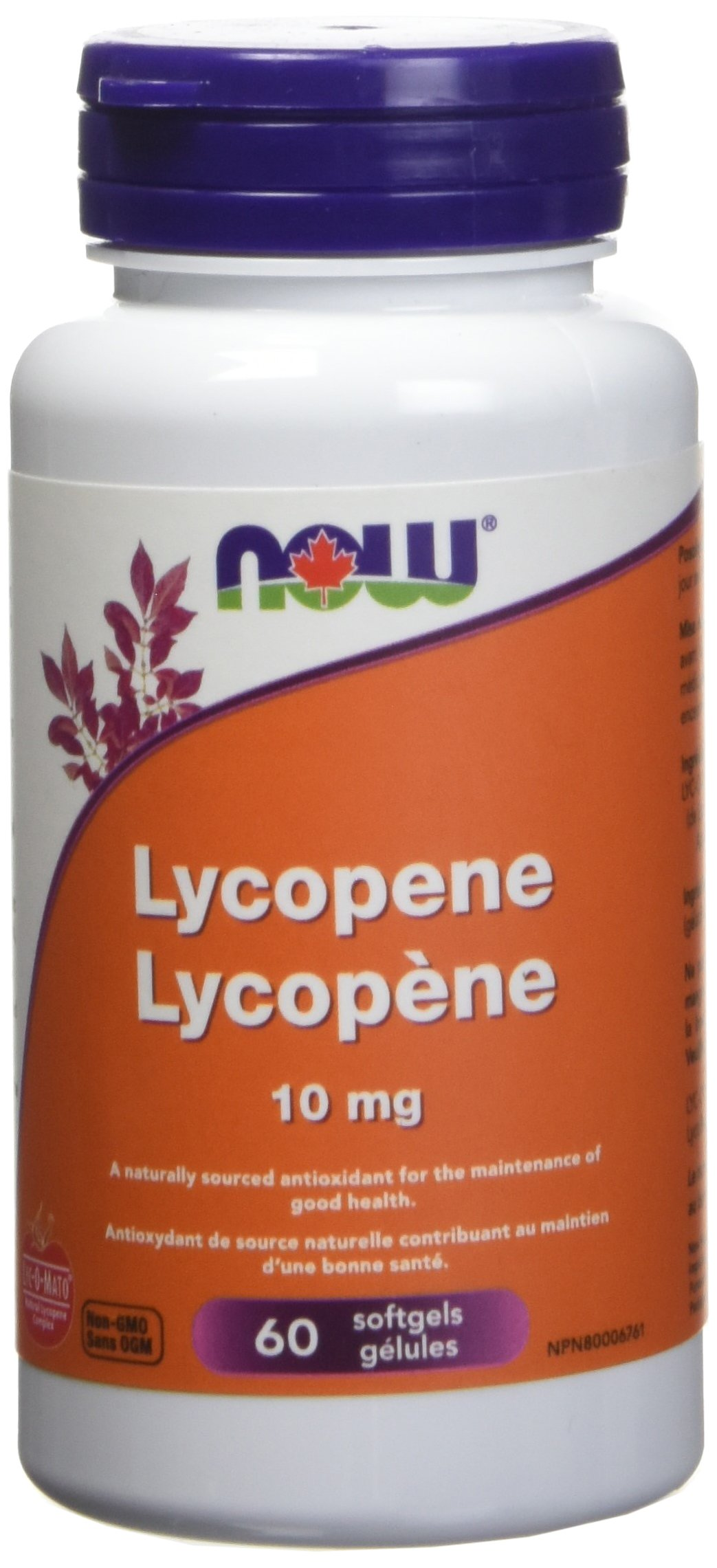 Now Foods, Lycopene 10mg, 60 Softgels by NOW Foods