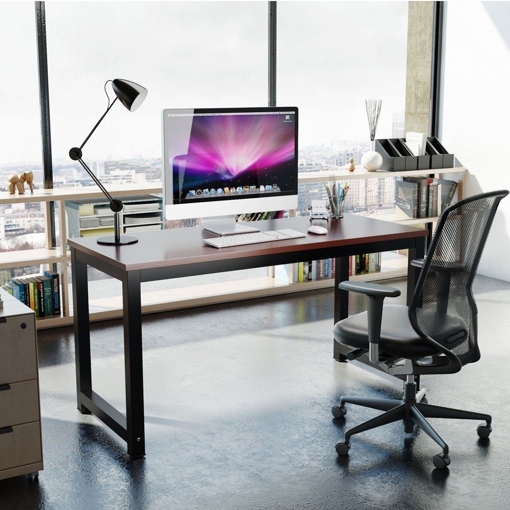large office table. Amazon.com : Tribesigns Computer Desk, 55\ Large Office Table K