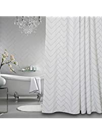 bathroom cor curtain the simple modern a striped with d of shower curtains how your to diy change ideas