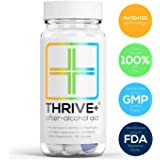 Thrive+ After-Alcohol Aid: Reduce Alcohol's Negative Health Effects (Patented). Invented by Princeton student; used by PhD & MDs.