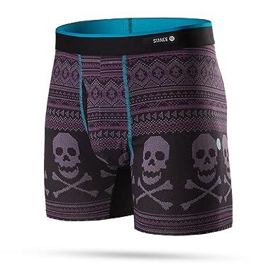 00fd47c44a1a0 Stance Men's Bones Underwear, Black SM at Amazon Men's Clothing store:
