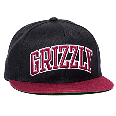 Grizzly Griptape Men s Top Team Snapback Hat Black at Amazon Men s ... aebe2a8973f